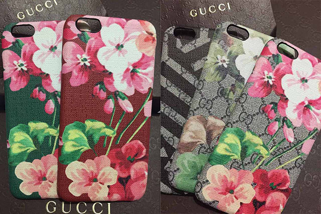 GUCCI iphone7s PLUSケース パロディ風
